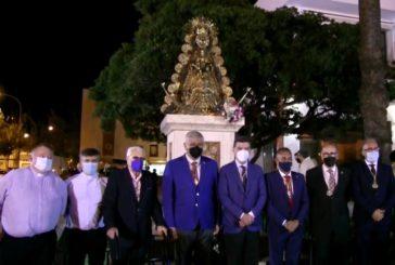 Inaugurado el monumento en Honor a la Virgen del Rocío en Isla Cristina