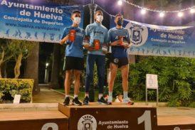 Zakaria Boufaljat y Celia Romero ganan la Nocturna de Huelva