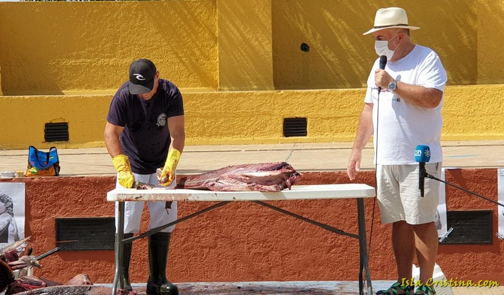 El Ronqueo del Atún abre el Arráez Sotarráez XIX Encuentro de Capitanes de Almadraba en Isla Cristina