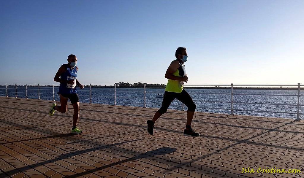 Pepe Isla es plata y Joaquín Santos 4° en el Andaluz 10 Km en Ruta