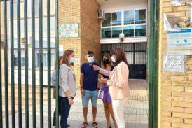 El Ayuntamiento de Isla Cristina valora los centros escolares tras le paso de la Dana por la localidad