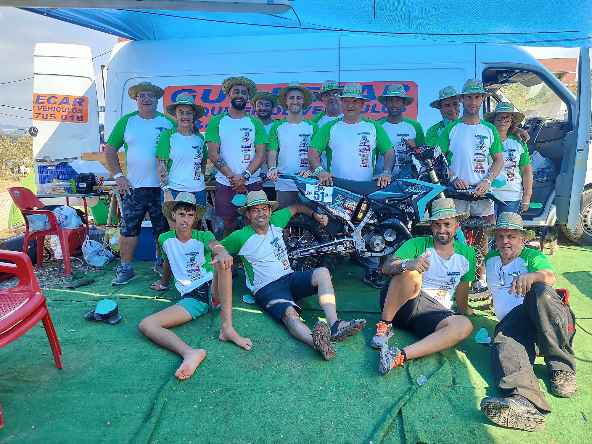 Éxito del equipo «La Leyenda de Isla Cristina, Nieves-Racing» en las 24 horas de la Vall del Tenes