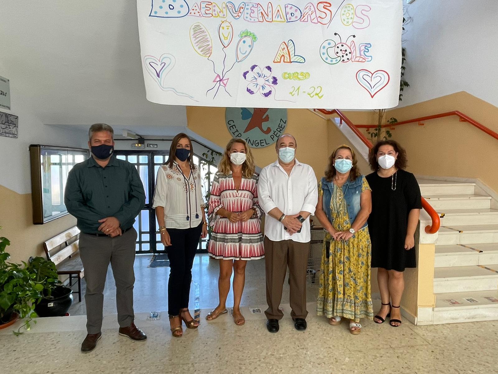 La normalidad marca le inicio del Curso Escolar en Isla Cristina