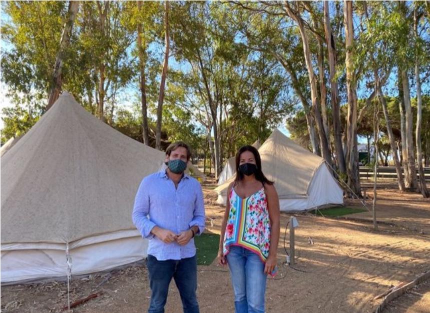 La Junta detalla a los propietarios de camping de Isla Cristina el nuevo decreto de edificabilidad