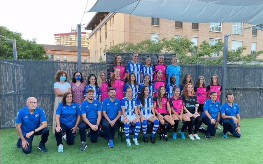 El Sporting Club de Huelva de la Isleña Cristina Gey, afronta su XVI campaña en la máxima categoría femenina
