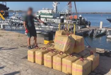 Un detenido tras intervenir 31 fardos de hachís en una embarcación pesquera en Punta Umbría