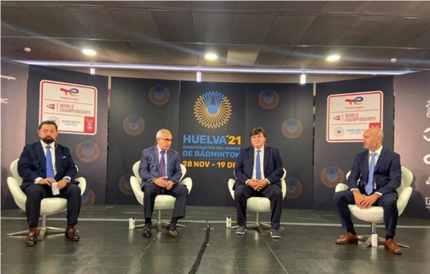 Huelva presenta los Mundiales de Bádminton en la sede del Comité Olímpico Español