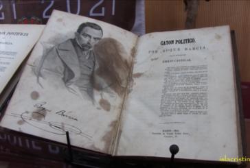 Video: Recepción de libros de Roque Barcia donados al Ayuntamiento de Isla Cristina