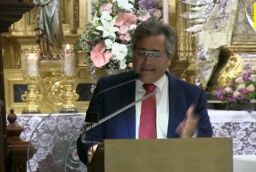 Exaltación a Ntra. Sra. del Rosario Isla Cristina, a cargo de Francisco González Salgado
