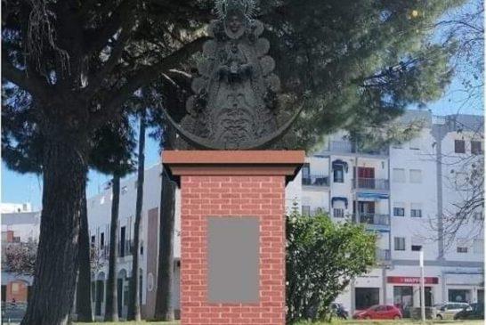 Inauguración y bendición monumento Virgen del Rocío
