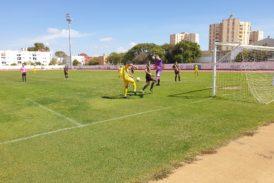 Festival de goles entre el Isla Cristina FC y Aroche CF