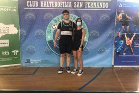 Éxito de los jóvenes atletas onubenses en el Andaluz de Halterofilia