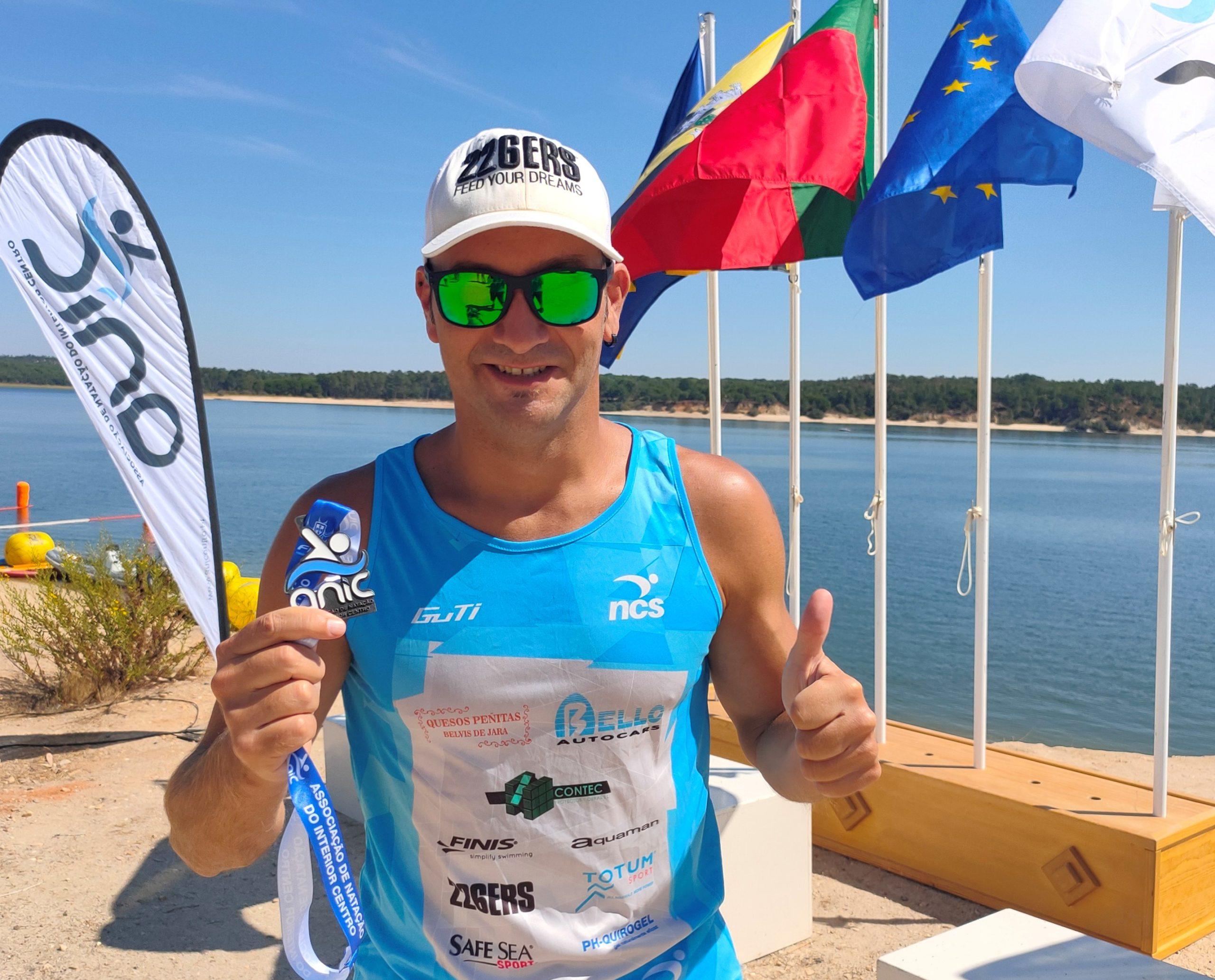 Rubén Gutiérrez vuelve a obtener una victoria en el Circuito Portugués de Aguas Abiertas