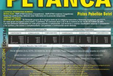 Isla Cristina acoge el VIII Open Internacional de Petanca