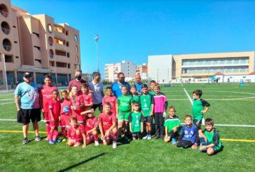 Los niños disfrutan en Isla Cristina del fútbol de cantera con el ''Trofeo de la Amistad''
