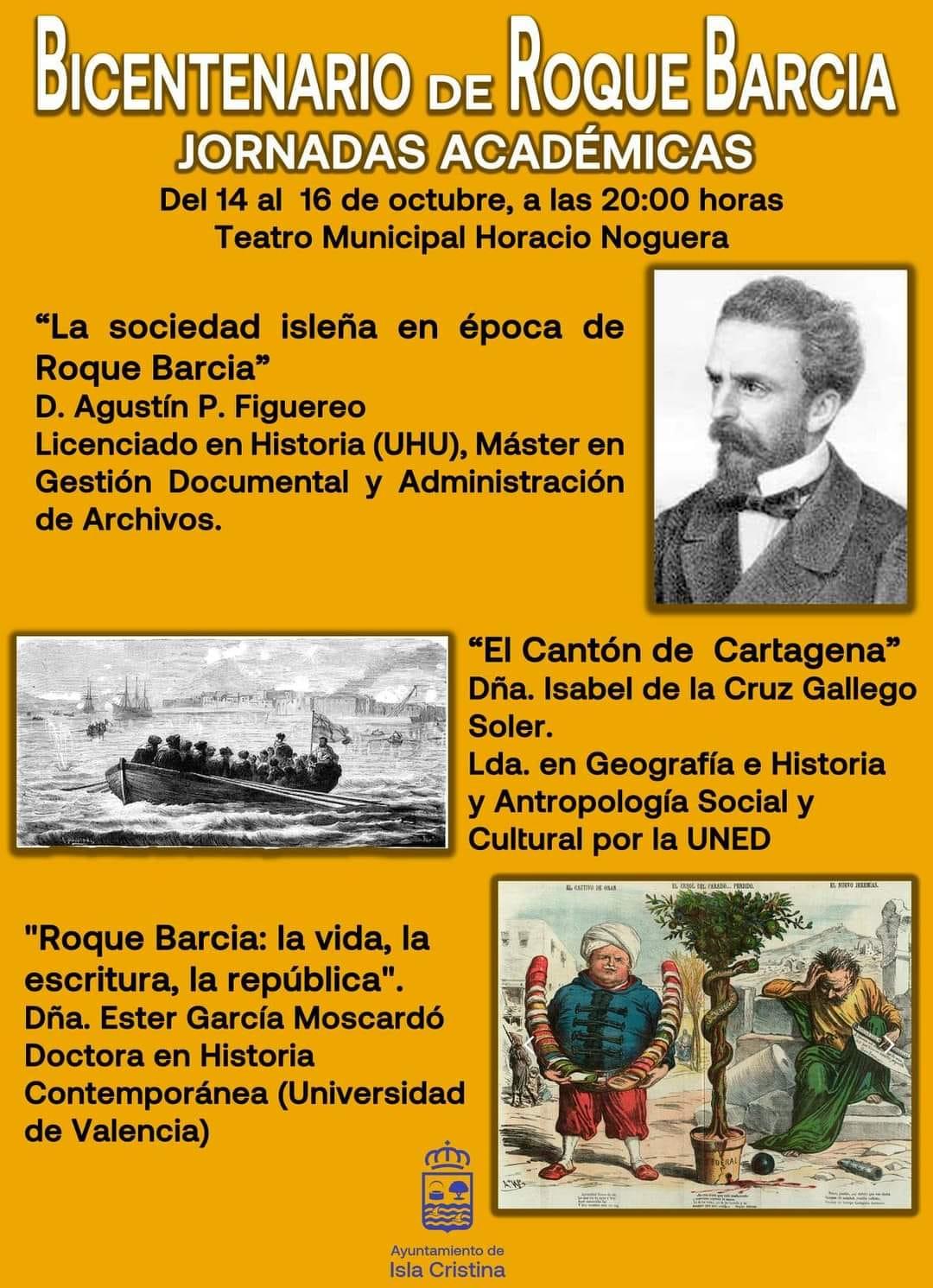 Conferencia: La sociedad isleña época de Roque Barcia»