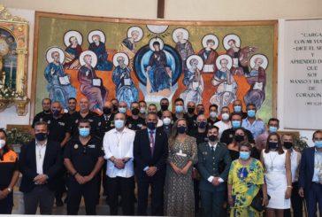 Isla Cristina celebra la misa en Honor a los Ángeles Custodios, patronos de la Policía Local