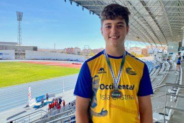 Oro para el isleño Rodrigo Orozco, en el Campeonato de Andalucía sub 14 Occidental
