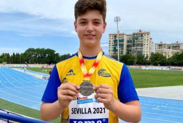 El isleño Rodrigo García Orozco, a por las medallas del Andaluz sub 14 de Atletismo