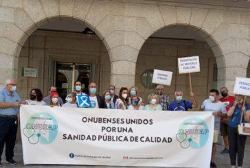 ONUSAP hace entrega de mas de 1300 firmas pro-apertura del CHARE de Lepe y cese del concierto con la empresa Pascual