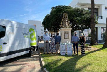 Bidafarma y Farmaceúticos Sin Fronteras donan 2.500 productos sanitarios para los afectados por las inundaciones en Isla Cristina