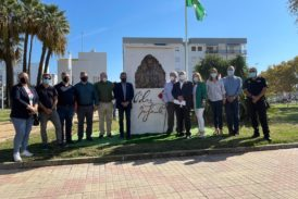 Isla Cristina inaugura un monolito dedicado a Blas Infante