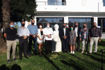 El Ayuntamiento repone el Busto de Roque Barcia en el marco del Bicentenario de su nacimiento