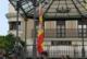 Izado de la Bandera de España en Isla Cristina con motivo de la Festividad del Pilar