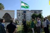 Inauguración en Isla Cristina del Monolito dedicado a Blas Infante