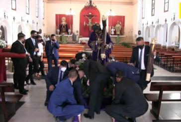 Salida Sagrados Titulares Hdad. Madrugada Isla Cristina para Celebración Misa Centenario