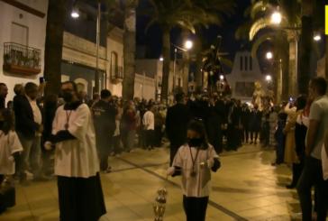 Procesión Gran Poder, Ntra. Sra. de las Mercedes y San Juan Evangelista de Isla Cristina-