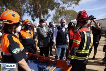 Andalucía ensaya la respuesta en caso de tsunamis en un simulacro en Huelva con un operativo de casi 2.000 personas