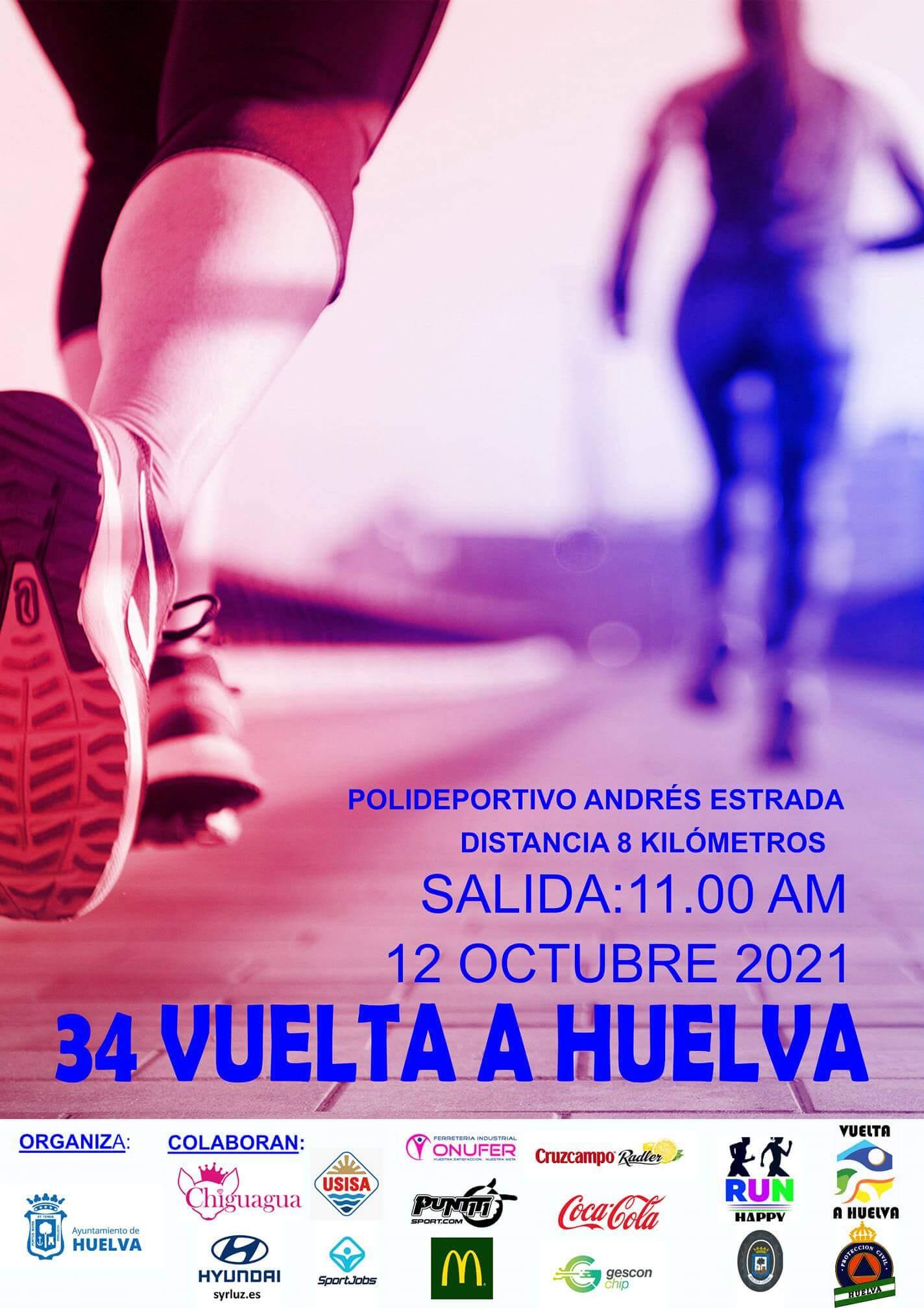 La capital acogerá el día de La Hispanidad la '34 Vuelta a Huelva'